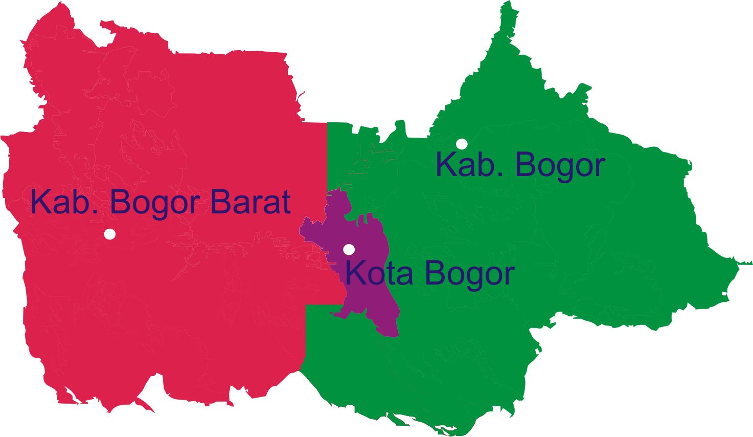 Peta Wilayah Pemekaran Bogor Barat Rampung Portalcisarua