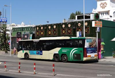 Sunsundegui Astral, Consorcio de Transporte Metropolitano del Área de Málaga