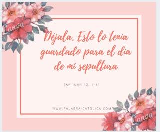 Evangelio del Día Lunes 6 de Abril - San Juan 12, 1-11