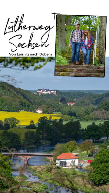 Lutherweg von Leisnig nach Döbeln - Wandern in Sachsen - Region Leipzig - Burg Mildenstein - Kloster Buch - Wanderung 20