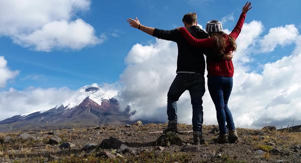 Senderismo en el Parque Nacional Cotopaxi Ecuador
