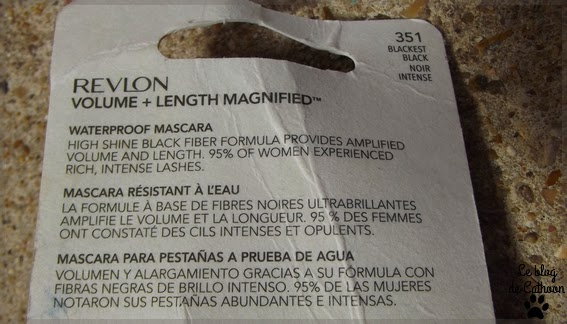 Revlon - Volume+ Length Magnified - Mascara Noir