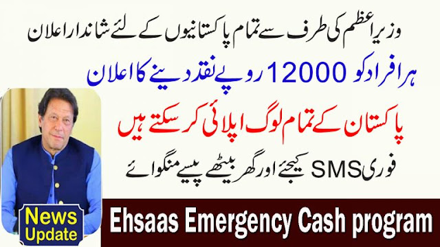 Prime Ministre Emergency Cash Program 2020 How to Apply Online Complete Information
