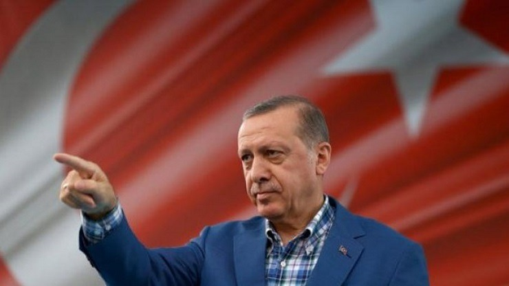 «Εντολή» Ερντογάν: ''Yunanistan yok edilmeli''