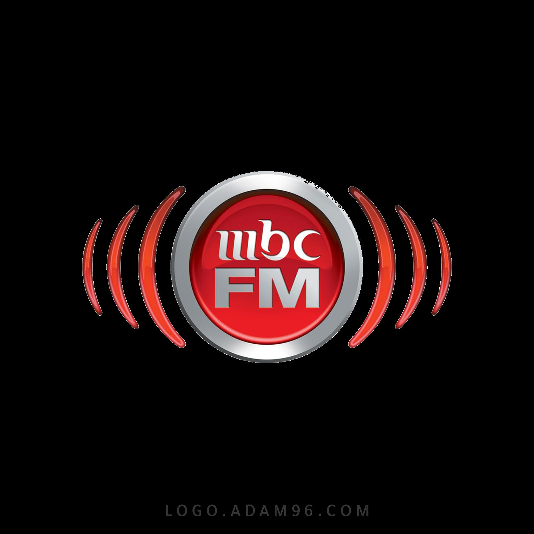 تحميل شعار قناة ام بي سي اف ام لوجو بدون خلفية Logo MBC FM PNG