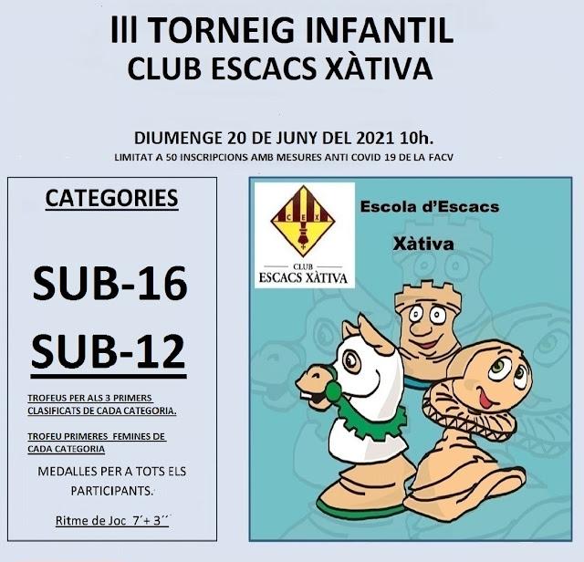 Presencial 20 junio, Sub-16 / Sub-12 Xàtiva
