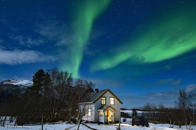 Gîte en Engeloya, Noruega por El Guisante Verde Project