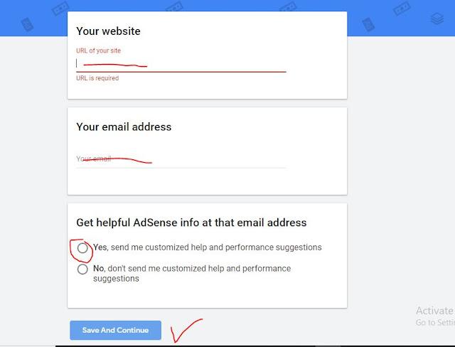 formulir google adsense