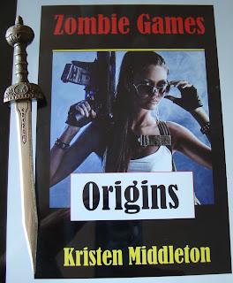 Portada del libro Zombie Games (Origins), de Kristen Middleton