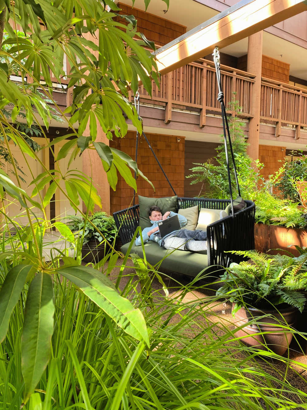 remote learning from resort