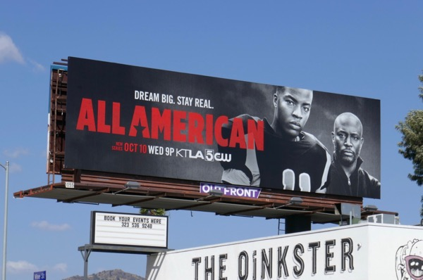 All American series premiere billboard