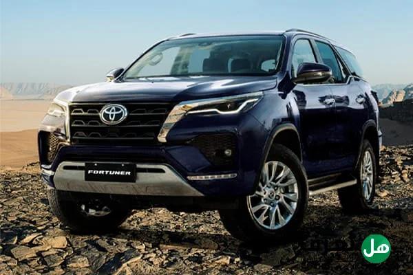 ما هي مواصفات سيارة تويوتا فورتشنر Toyota Fortuner 2022