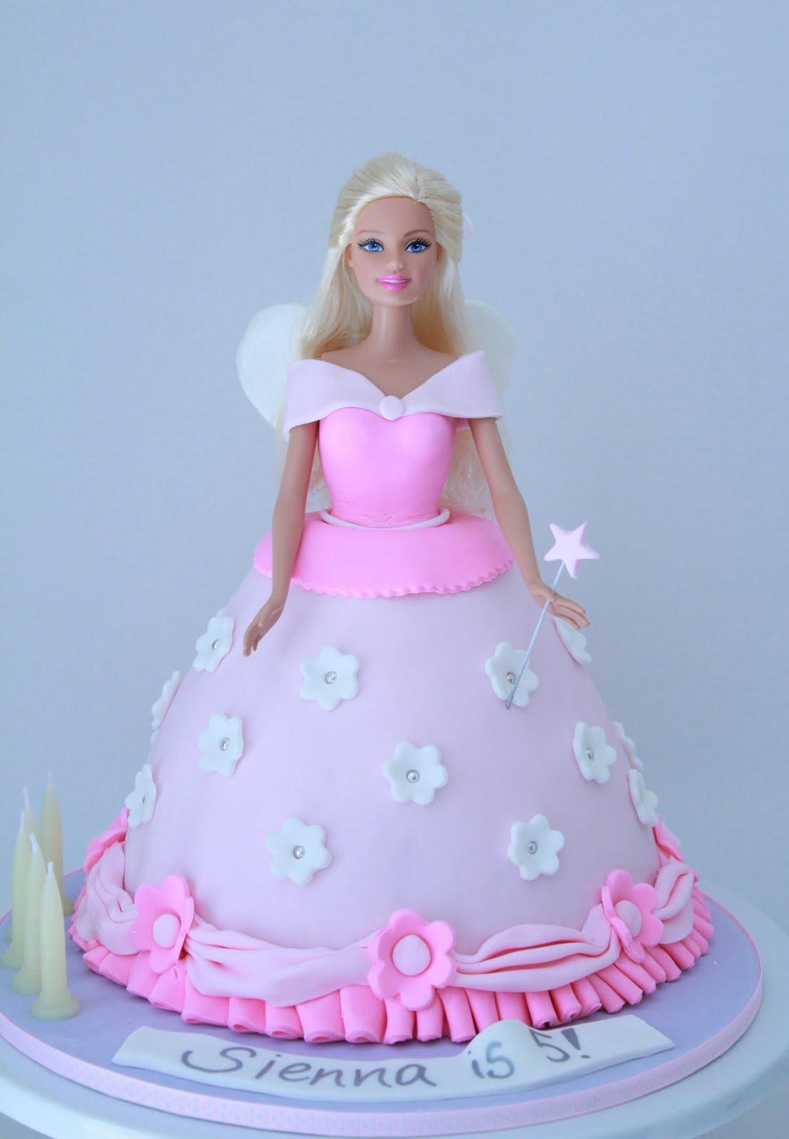 Blissfully Sweet Princess Barbie Birthday Cake