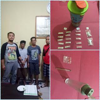 Sat Res Narkoba Gagalkan Peredaran 17 Paket Shabu