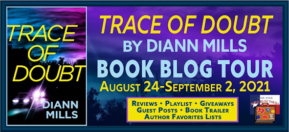 Trace of Doubt book blog tour promotion banner