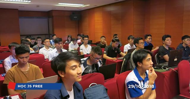Lớp học Javascipt miễn phí (Tháng 10/2018)