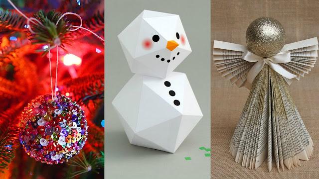 Ιδέες για DIY Χριστουγεννιάτικες κατασκευές διακόσμησης