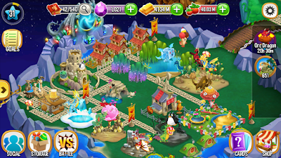 Free Download Dragon City Mod Apk v4.11.1 Free For Android