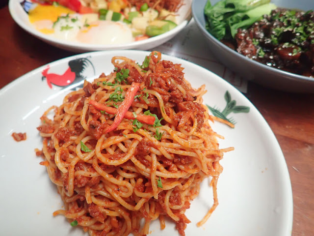 spaghetti bolognese merchant's lane