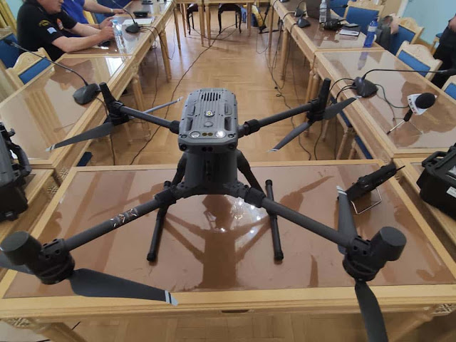 Drone τελευταίας τεχνολογίας από την Περιφέρεια στην Πυροσβεστική Διοίκηση Πελοποννήσου