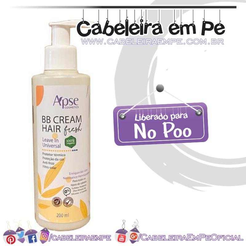 BB Cream Hair Fresh - Apse (No Poo)