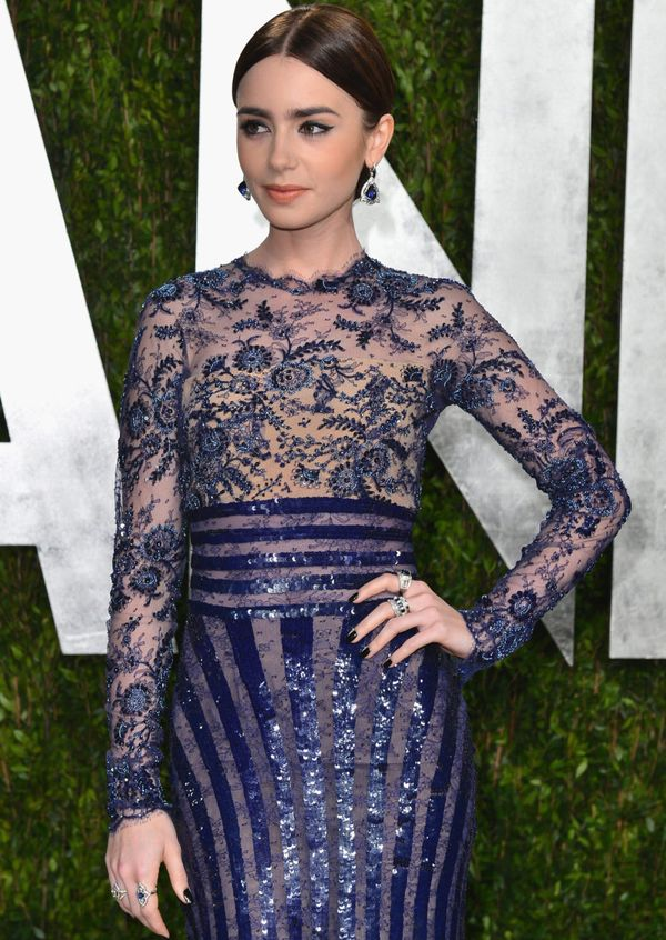Lily Collins is a British-American actress and model