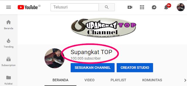 100 ribu subscriber