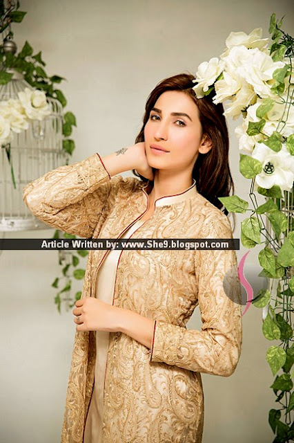 Zainab Hasan Best Eid 2015 Dresses for Girls