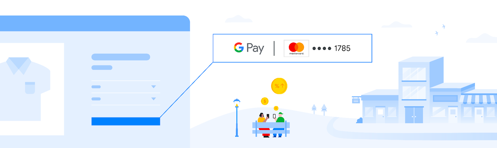 Google Pay header