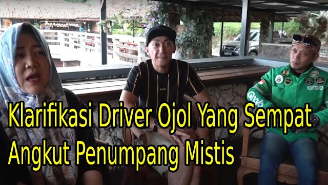 Driver Ojol Angkut Penumpang Mistis dari Bandung ke Subang