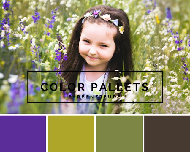 Girl, Flowers, Mädchen, Blumen, Frühling, Sommer, Farbpalette, Colorpallet, Linkparty