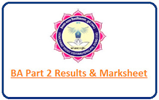 Durg University BA Part 2 Result 2021