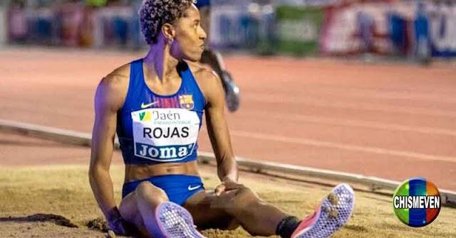 Yulimar Rojas bate record de Salto Triple en España