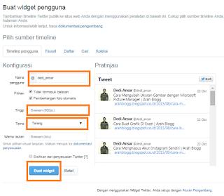 Twitter merupakan layanan jejaring sosial dan mikroblogging daring yang memungkinkan peng Cara Memasang Twitter Di Blogger