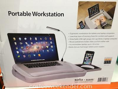 Costco 638834 - Sofia + Sam Memory Foam Lap Desk - great for any home office