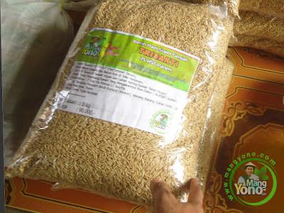 Yuliman (Kang Yuli) Banjarnegara, Jateng  Pembeli Benih Padi TRISAKTI 75 HST Panen   sebanyak 5 Kg atau 1 Bungkus