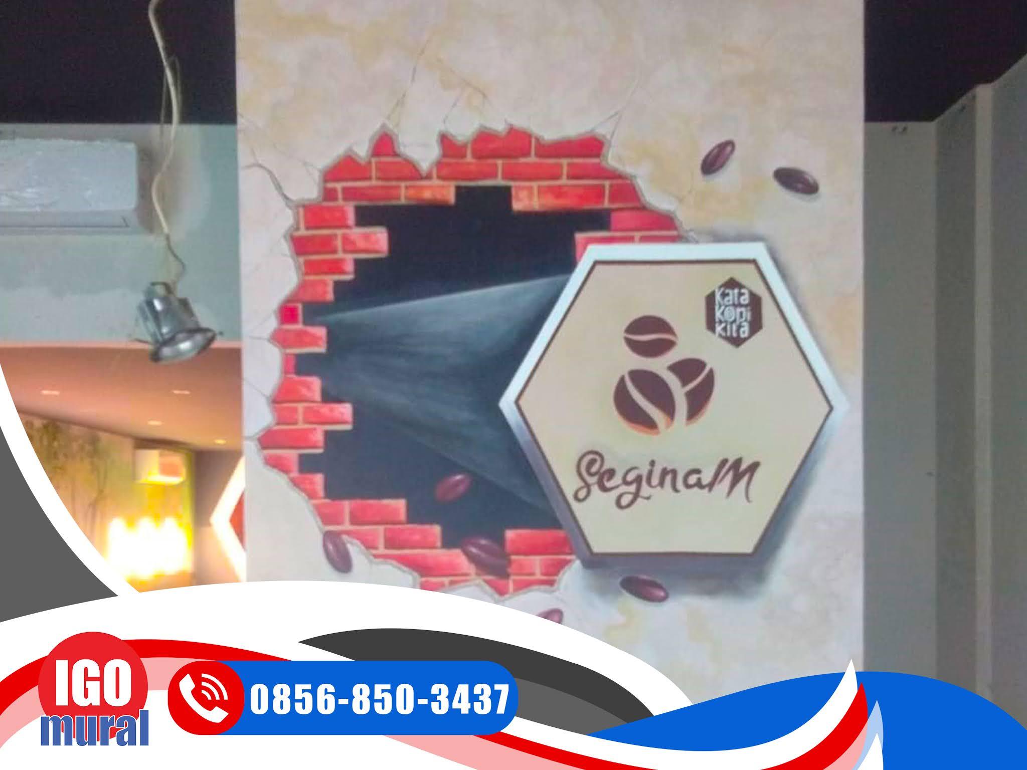 Lukisan Mural di Indonesia Lukisan 3D
