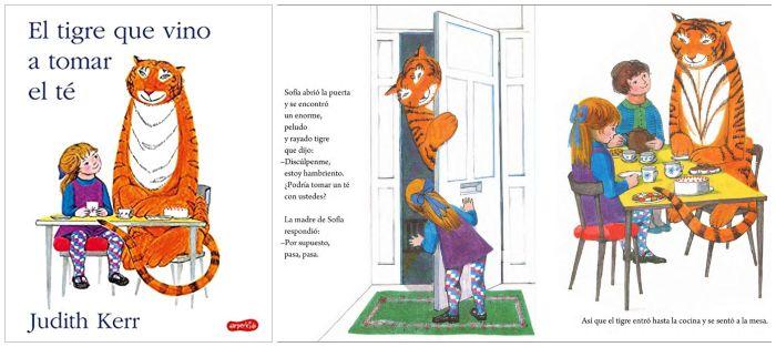 cuento infantil El tigre que vino a tomar el té