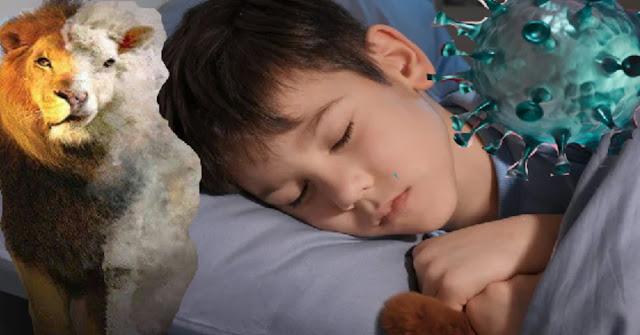 Após orar, criança de 7 anos sonhou que leão e cordeiro esmagavam o coronavírus