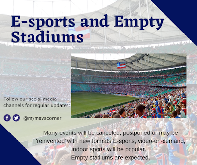 E-sports and Empty Stadiums