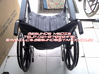 jual kursi roda sella berpelk racing dan cocok buat jalan-jalan ke taman atau ke mall