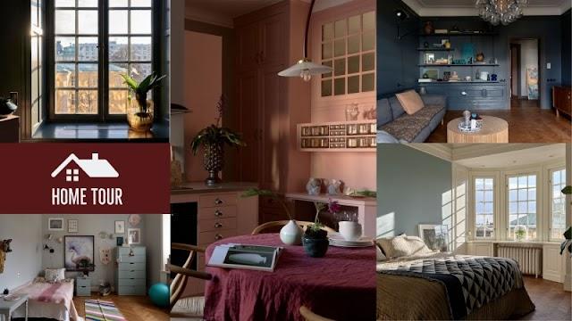 Ένα διαμέρισμα με πολύ ιδιαίτερη ατμόσφαιρα
