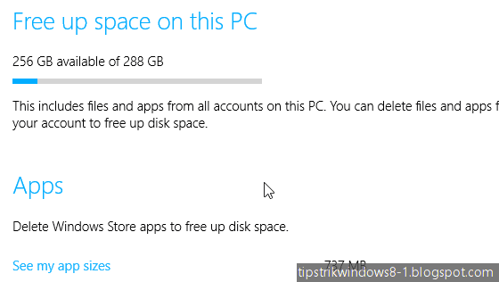 cara menghemat harddisk di windows 8.1