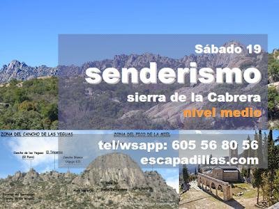 Sierra de la Cabrera con el grupo de senderismo - escapadillas.com