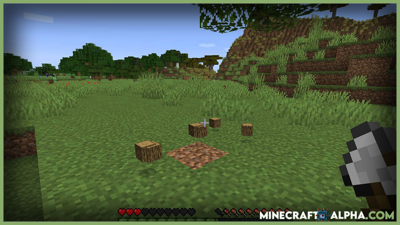 Falling Trees Mod Minecraft 1.17