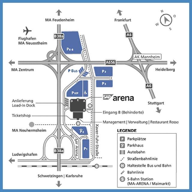 Sap arena Parken