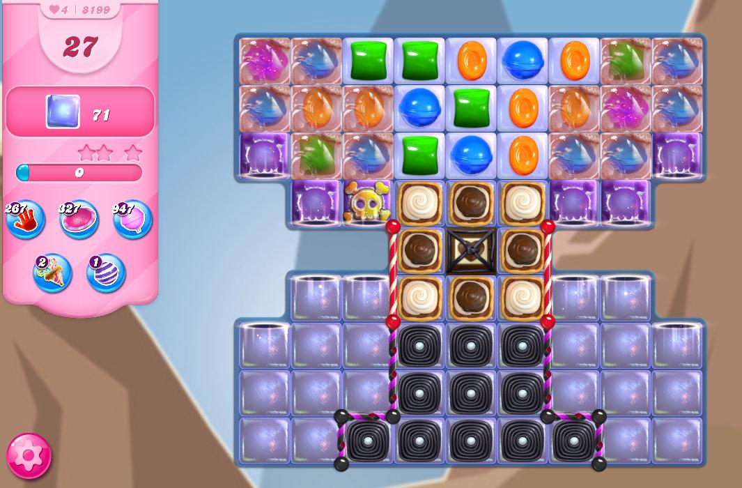 Candy Crush Saga level 8199