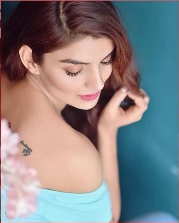 Actress Anveshi Jain  Glam Photoshoot