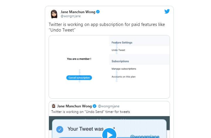 twitter introduce undo tweet