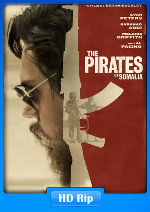 The Pirates of Somalia 2017 720p WEB-DL 900MB Poster